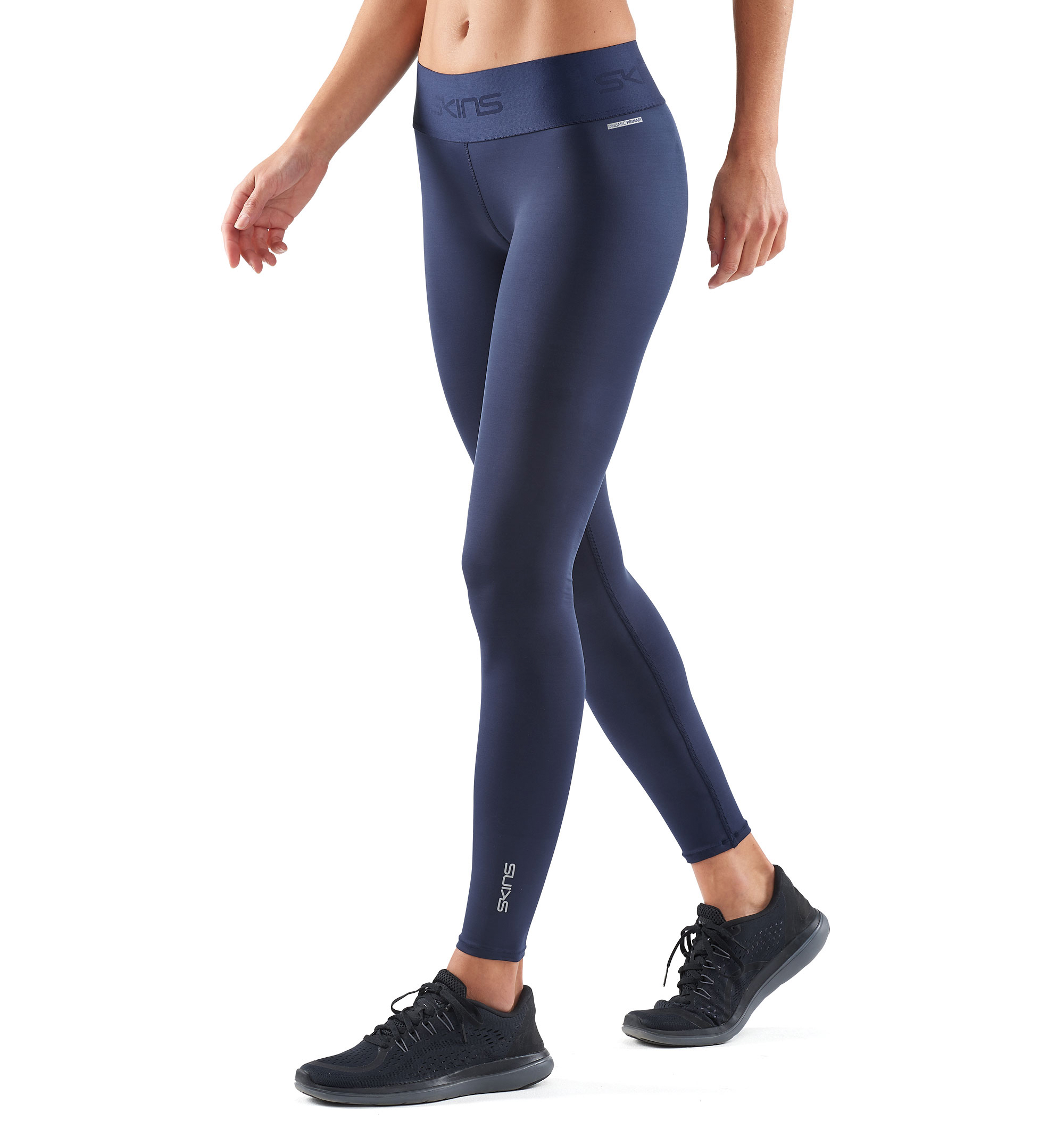 Skins Womens DNAmic Primary Performance Compression Long Tights